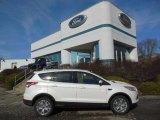 2013 White Platinum Metallic Tri-Coat Ford Escape SEL 1.6L EcoBoost 4WD #76071907