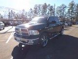 2012 Black Dodge Ram 1500 Big Horn Crew Cab 4x4 #76072426