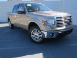 2013 Pale Adobe Metallic Ford F150 Lariat SuperCrew #76072168