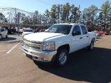 2013 Summit White Chevrolet Silverado 1500 LT Crew Cab 4x4 #76072421
