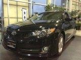 2012 Attitude Black Metallic Toyota Camry SE #76071878