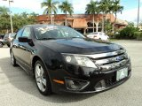 2011 Tuxedo Black Metallic Ford Fusion Sport #76071991