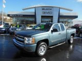 2011 Taupe Gray Metallic Chevrolet Silverado 1500 LS Extended Cab #76072132