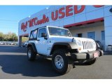 2011 Bright White Jeep Wrangler Sport 4x4 #76071960