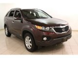 2011 Dark Cherry Kia Sorento LX AWD #76072367