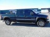 2006 Deep Blue Metallic GMC Sierra 2500HD SLT Crew Cab 4x4 #76072488
