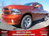 2013 Copperhead Pearl Ram 1500 Sport Quad Cab #76072083