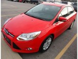 2012 Race Red Ford Focus SEL Sedan #76072357