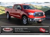 2010 Radiant Red Toyota Tundra SR5 Double Cab 4x4 #76071810