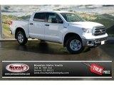 2013 Super White Toyota Tundra SR5 CrewMax 4x4 #76071808