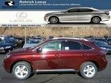 2013 Claret Red Mica Lexus RX 350 AWD #76127405