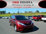 2012 Salsa Red Pearl Toyota Sienna LE #76128170