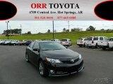 2012 Attitude Black Metallic Toyota Camry SE #76127954