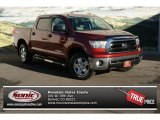 2010 Salsa Red Pearl Toyota Tundra TRD CrewMax 4x4 #76127222