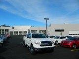 2013 Super White Toyota Tundra SR5 CrewMax 4x4 #76128074