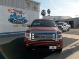 2013 Ruby Red Metallic Ford F150 Platinum SuperCrew 4x4 #76157776