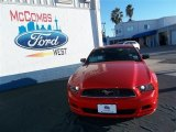 2013 Race Red Ford Mustang V6 Coupe #76157759