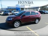 2013 Basque Red Pearl II Honda CR-V EX-L #76157829