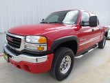 2006 Fire Red GMC Sierra 2500HD SL Crew Cab #76127918