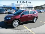 2013 Basque Red Pearl II Honda CR-V EX-L #76157824