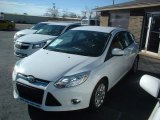 2012 Oxford White Ford Focus SE 5-Door #76127488