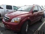 2009 Spicy Red Kia Sorento LX #76127896