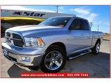 2011 Bright Silver Metallic Dodge Ram 1500 Lone Star Quad Cab #76127469