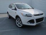 2013 White Platinum Metallic Tri-Coat Ford Escape Titanium 2.0L EcoBoost #76185597