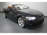 2013 Black Sapphire Metallic BMW 3 Series 335i Convertible #76185702