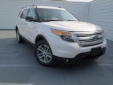 2013 White Platinum Tri-Coat Ford Explorer XLT #76185588