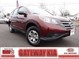 2012 Basque Red Pearl II Honda CR-V LX 4WD #76185865