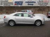 2013 Silver Ice Metallic Chevrolet Malibu LT #76185555