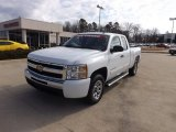 2011 Summit White Chevrolet Silverado 1500 LS Extended Cab #76185676