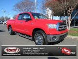 2010 Radiant Red Toyota Tundra Double Cab #76185729