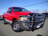 2002 Flame Red Dodge Ram 1500 ST Regular Cab #76185724
