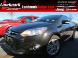 2012 Tuxedo Black Metallic Ford Focus SEL 5-Door #76185515