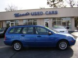 2005 French Blue Metallic Ford Focus ZXW SES Wagon #76185642