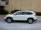 2013 White Diamond Pearl Honda CR-V EX-L AWD #76224429