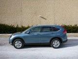 2013 Mountain Air Metallic Honda CR-V EX-L AWD #76224428