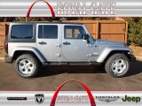 2013 Billet Silver Metallic Jeep Wrangler Unlimited Sahara 4x4 #76223914