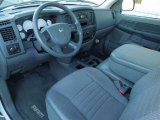2007 Dodge Ram 1500 SXT Regular Cab Medium Slate Gray Interior