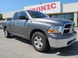 2012 Mineral Gray Metallic Dodge Ram 1500 SLT Quad Cab #76224170
