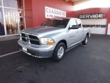 2012 Bright Silver Metallic Dodge Ram 1500 SLT Quad Cab #76224292