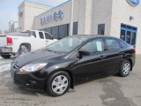 2012 Black Ford Focus S Sedan #76224150