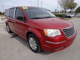 2008 Chrysler Town & Country Inferno Red Crystal Pearlcoat