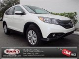 2013 White Diamond Pearl Honda CR-V EX-L #76223854