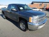 2013 Blue Granite Metallic Chevrolet Silverado 1500 LT Extended Cab #76224386