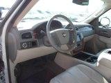 2011 Chevrolet Silverado 1500 LTZ Crew Cab Light Titanium/Dark Titanium Interior