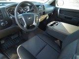 2013 Chevrolet Silverado 1500 LT Extended Cab Ebony Interior