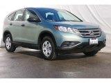 2012 Opal Sage Metallic Honda CR-V LX #76224134